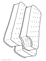 coloring download sandwich coloring page sandwich coloring page