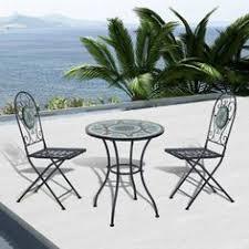 Tesco Bistro Table Selima Mosaic Cast Iron Bistro Set Garden Pinterest Bistro