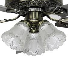 blade 3 light black color ceiling fan with lights for bedroom