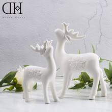 Reindeer Decoration Popular White Reindeer Decorations Buy Cheap White Reindeer