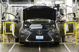 lexus es 2018 lexus starts production in the u s video