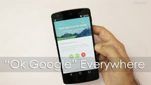 okay phone enable okay voice search from any screen