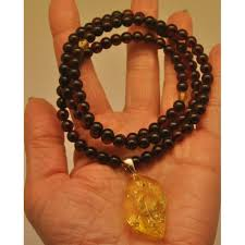 round beads necklace images Baltic amber round beads necklace with pendant from online baltic JPG