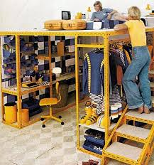 Look A Meccano Style Loft  Melbourne Construction Materials - Loft style bunk beds
