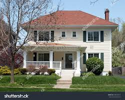 basic two story house stock photo 189564911 shutterstock