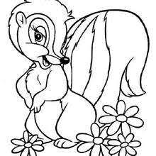 bambi mother coloring pages hellokids
