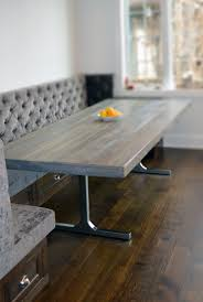 Rustic Modern Dining Room Grey Rustic Modern Dining Table Abodeacious