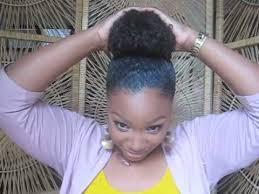 hair in a bun for women over 50 high bun tutorial youtube