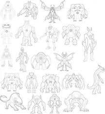 ben 10 ultimate alien images drawing aliens hd