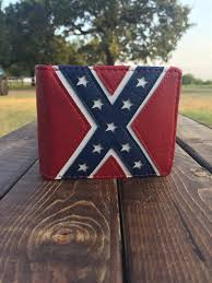 bifold rebel flag wallet u2013 all things country