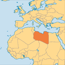 World Map Of Deserts Libya Operation World