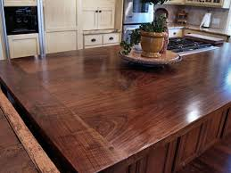 Kitchen Island Wood Countertop Walnut Wood Kitchen Countertops