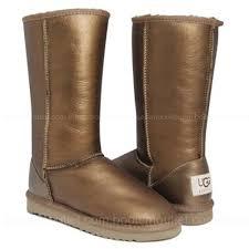 s gissella ugg boots ugg s metallic gold 123 00 ugg boots