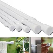 Loaded Shower Curtain Rod 1pc Adjustable Loaded Bathroom Shower Curtain Rod Tension