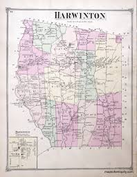 Suffolk County Massachusetts Maps And Harwinton Connecticut Antique Maps And Charts U2013 Original