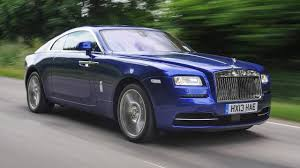 roll royce road rolls royce wraith review top gear