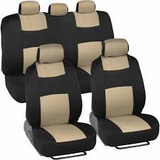 car chair covers bdk universal set of deluxe low back car seat covers