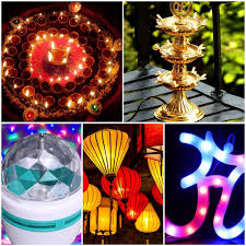 15 different types of diwali lights and lamps with decoration