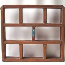 Rustic Wood Bookshelves by Shop Vintage Wood Shelf On Wanelo