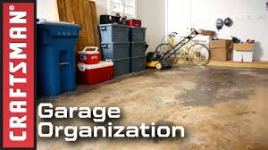 how to clean a garage floor u0026 garage organization ideas