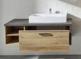 design waschbeckenunterschrank waschtisch waschbeckenunterschrank in eiche riviera honig und