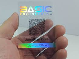 Custom Holographic Business Cards Hologram Plastic Business Cards Printing From Only 114 95