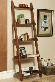 coaster 4 drawer ladder style bookcase 101 best leaning ladders fireplace wall images on pinterest home