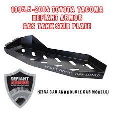 2006 toyota tacoma fuel 1995 5 2004 toyota tacoma defiant armor gas tank skid plate black