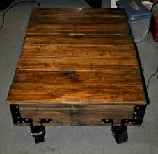ana white diy factory cart coffee table diy projects