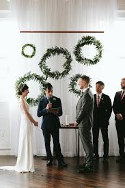wedding backdrop modern wedding ceremony backdrops that feel fresh modern and totally