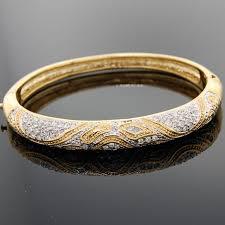 swarovski gold plated bracelet images Cubic zirconia tennis bracelets by bobby schandra jpeg