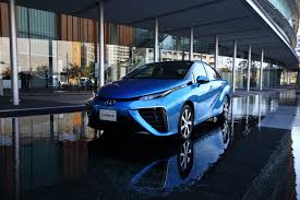 hydrogen fuel cell car toyota toyota clings to hydrogen bet while electric sales soar