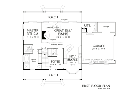 house plan the kimbrel by donald a gardner architects