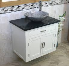 Stone Basin Vanity Unit Painted Wall Hung Vanity Unit With Quartz Top U0026 Stone Wash Basin