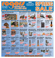 Rogers Goosebuster Blind Rogers Sporting Goods Spring Sales Flyer By Rogers Sporting Goods