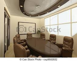 modern office conference table conference table on modern office with big window clip art