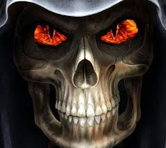 halloween screensavers wallpapers animated harley davidson screensavers flames skull 25 960x854
