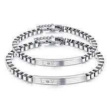 personalized bracelets for stainless steel personalized bracelets for women men