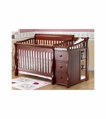 Sorelle Tuscany 4 In 1 Convertible Crib And Changer Combo Sorelle Tuscany 4 In 1 Convertible Crib Combo In Cherry