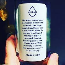 How To Get Usda Certified Asarasi Is The First Usda Certified Organic Water Daily Mail Online