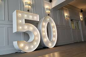 marquee numbers with lights 1 niagara falls marquee number rentals niagara falls wedding