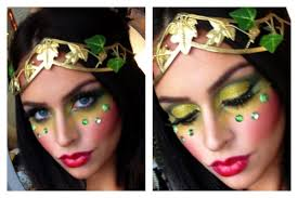 poison ivy eve halloween makeup tutorial youtube