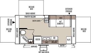 rockwood floor plans flagstaff shamrock travel trailers floor plans