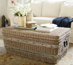 Wicker Trunk Coffee Table Rattan Coffee Table Trunk Foter