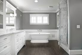Gray Bathroom Cabinets Calm White And Grey Bathroom Schemes Home Sweet Home Pinterest