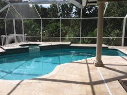 16x16 noce roman gm tumbled travertine pool deck pavers and pool