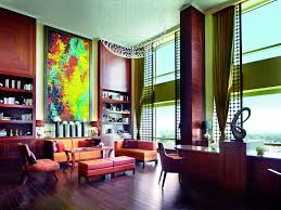 Floor Level Seating Furniture by Club Level In Bangalore India The Ritz Carlton Bangalore