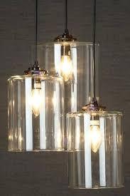 Glass Cylinder Pendant Light Cylinder Pendant Lights Three Glass Cylinder Pendant Light Two