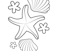 starfish for coloring kids coloring europe travel guides com