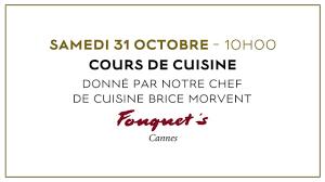 cours cuisine cannes hôtel barrière le majestic cannes cours de cuisine octobre 2015